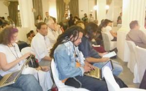 Nelson Pombo Junior, vice presidente do Imel no FSM Tunísia