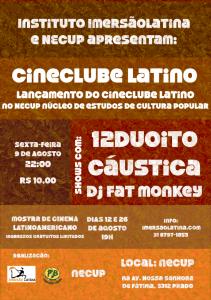 Filipeta Cineclube Latino festa (1)
