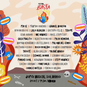 basta quemata line up 3